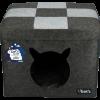 Lets sleep pet cube licht_donker grijs01©KATSHOPBYKATSIGN