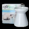 AFP-Elevated Pet Water Bowl – White01©KATSHOPBYKATSIGN